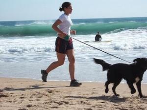 jogging con perro