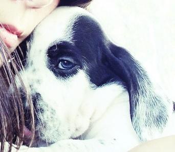 chica con cachorro1